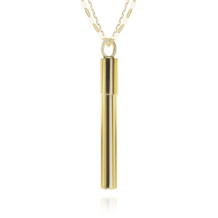 Necklace in 18 carat gold, 45 mm / Anno