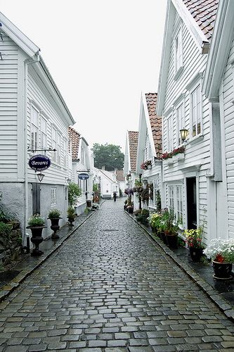 Stavanger, Norway~ This is how I remember it being when I was there