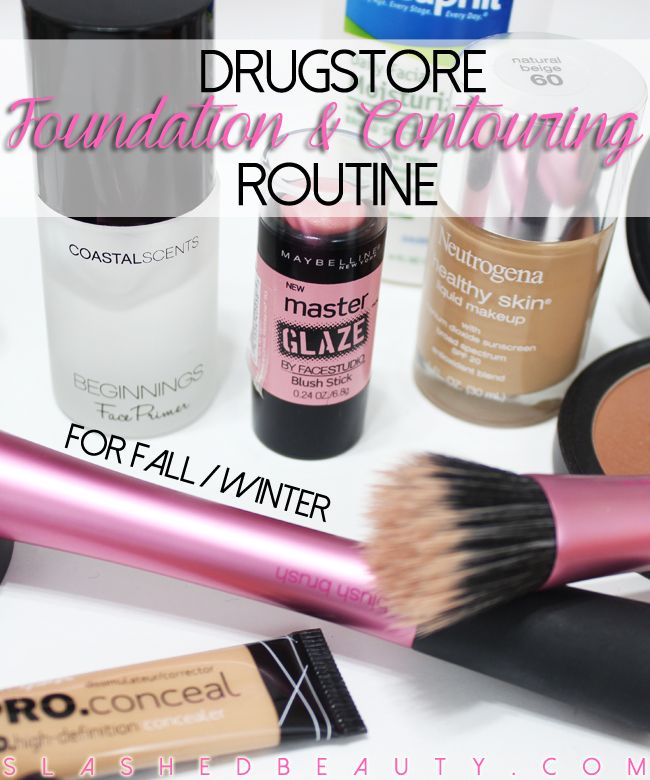 My Foundation & Contouring Routine for Fall/Winter   Slashed Beauty