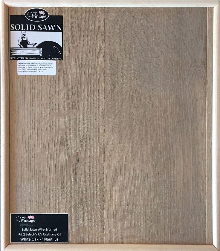 "Personal Selection Engineered Hardwood Flooring - White Oak 7"" Nutilus"