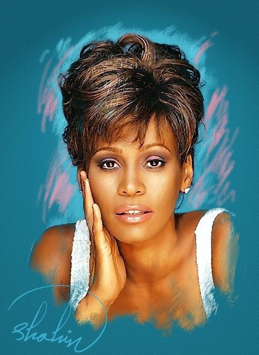 Whitney Houston by shahin