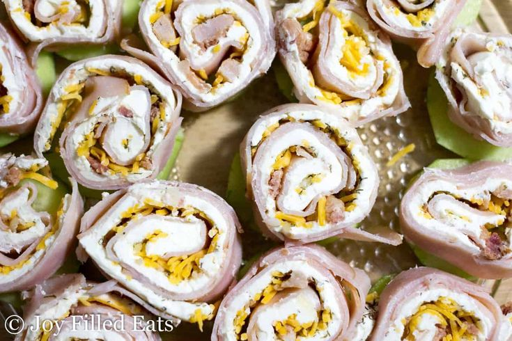 Turkey Bacon Ranch Pinwheels - Low Carb, Grain Free, THM S