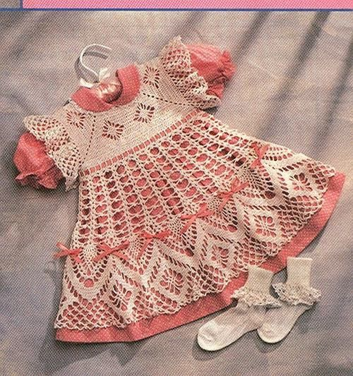 Gallery.ru / Photo # 29 - Baby crochet dress - svetlyachoks  graph