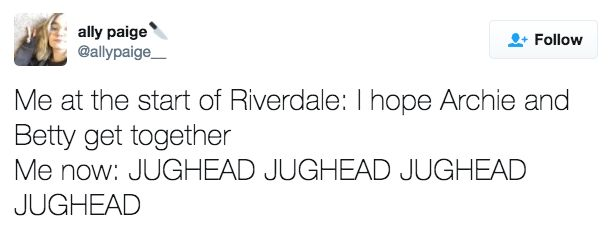 """17 Tweets For Anyone Who Loves Jughead And Kinda Hates Archie On """"Riverdale"""""""
