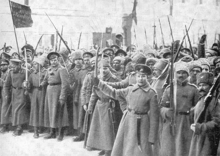 """fuckyeahsocialists: """"Bolshevik soldiers in Petrograd who wandered the streets in support of the October Revolution """""""