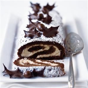 winter wedding chocolate dessert by delicious magazine