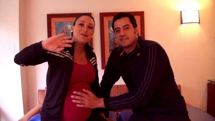 Ejercicios prenatales en pareja