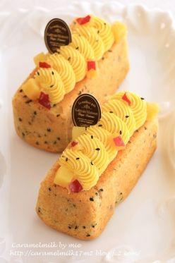 「さつまいものバターケーキ」きゃらめるみるく   お菓子・パンのレシピや作り方【corecle*コレクル】