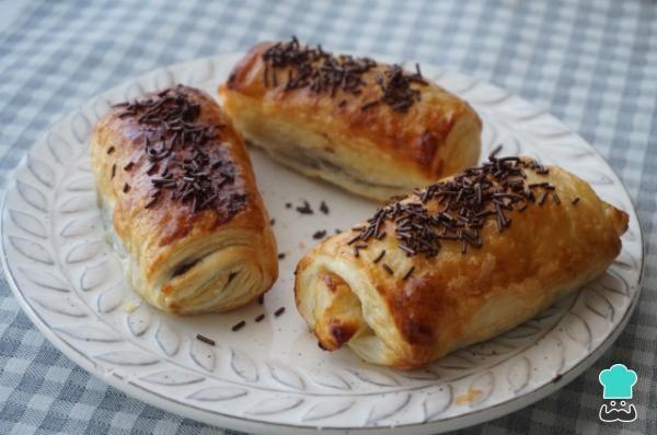 Napolitanas De Chocolate Receta Casera Paso A Paso Receta Recetas De Pan Recetas Recetas Con Hojaldre