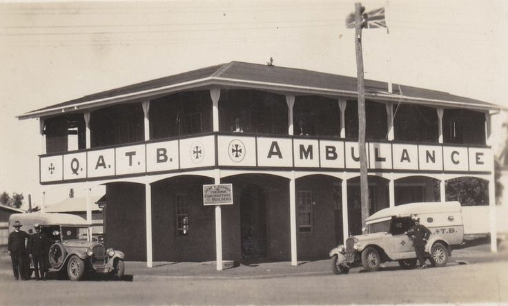 Queensland Ambulance Service Transport Brigades (QATB) building; 15352 - Australian Stockman's Hall of Fame and Outback Heritage Centre on eHive
