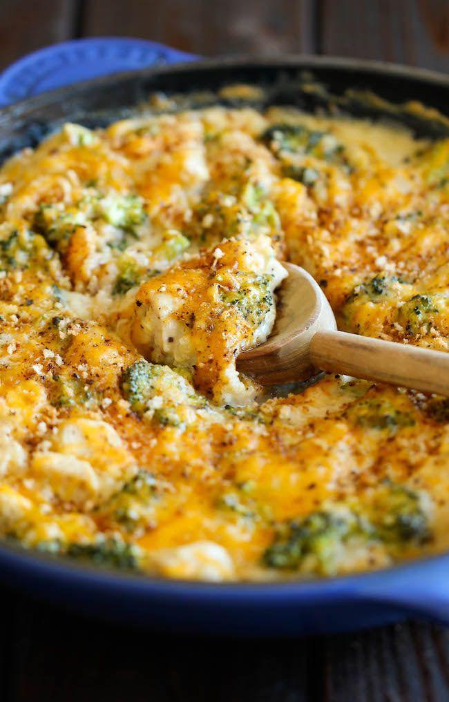 Broccoli Quinoa Casserole - Damn Delicious