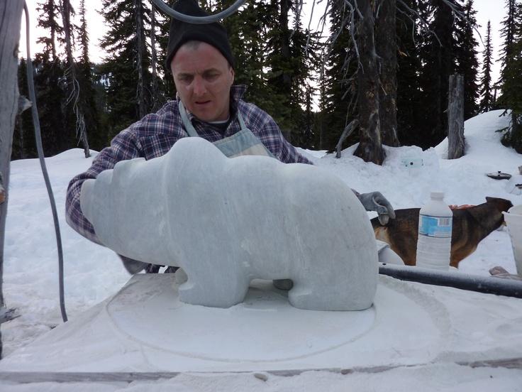 Boulder Mountain Bear is starting to take shape.