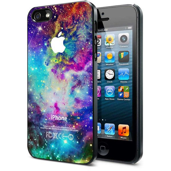 Galaxy Nebula Space Stars Colour 451K- iPhone Case iPhone 4 Case... ($16) ❤ liked on Polyvore