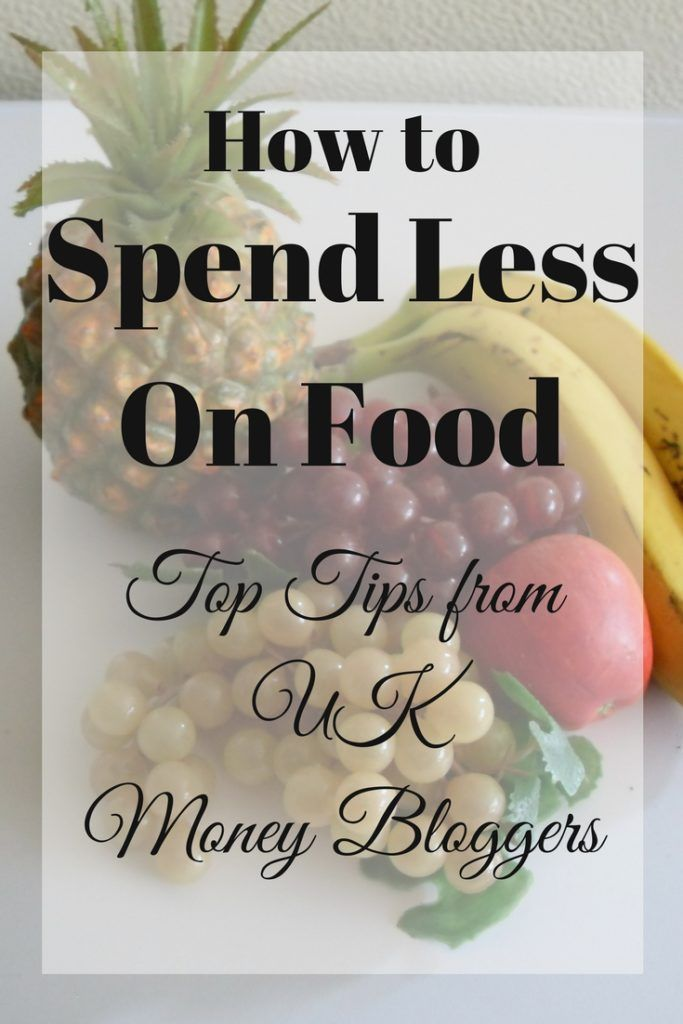 how to spend less money on groceries