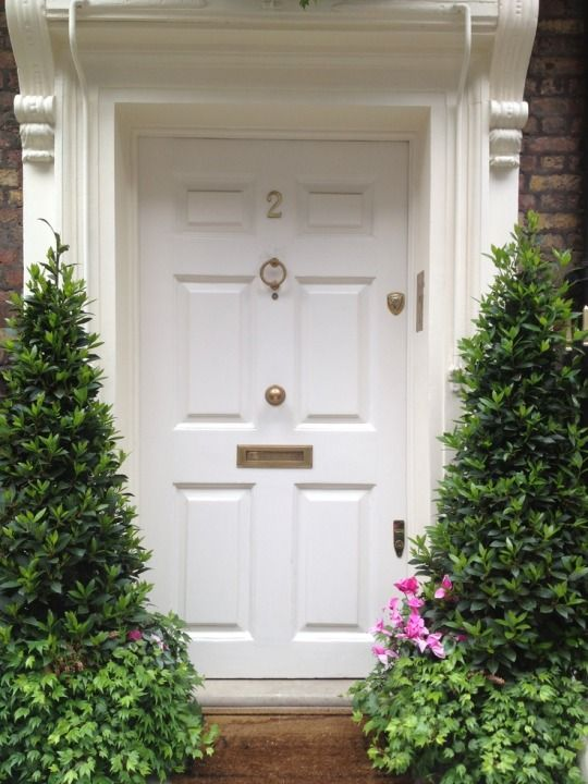 253 best Exterior: White Front Door images on Pinterest | Entrance ...
