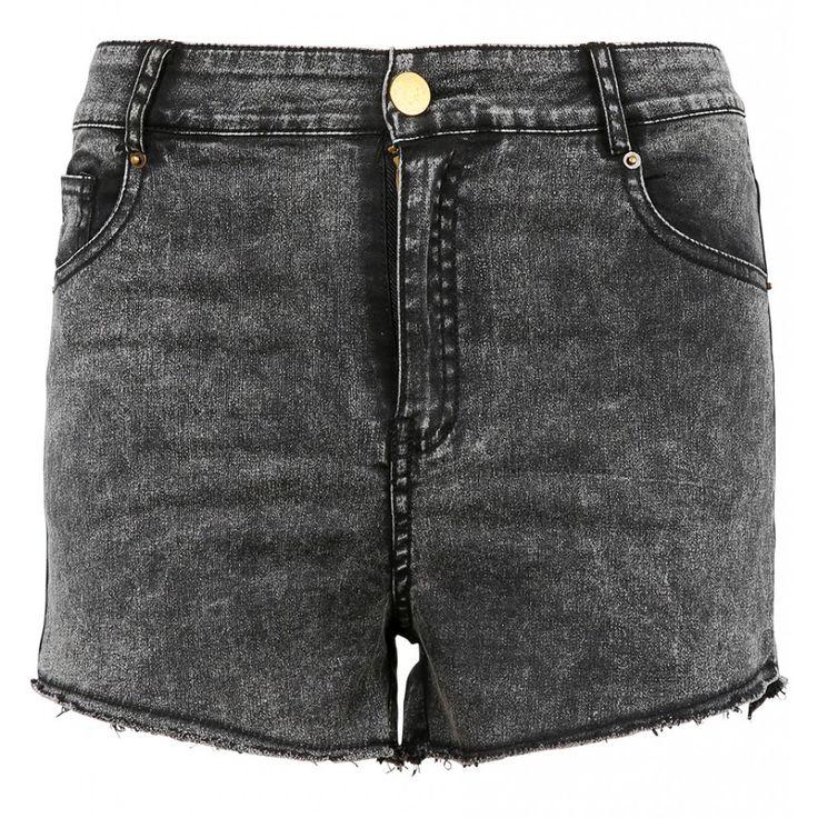 Grijze hoge taille jeans short http://www.loavies.com/fashion-nieuw/grijze-jeans-short.html