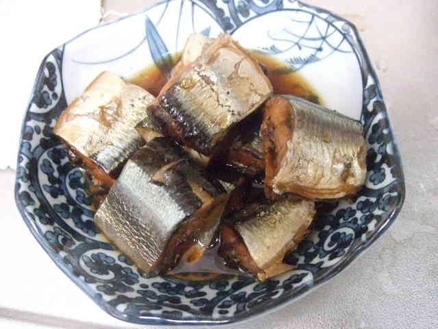 圧力鍋でさんま・いわしの骨なし甘露煮の画像