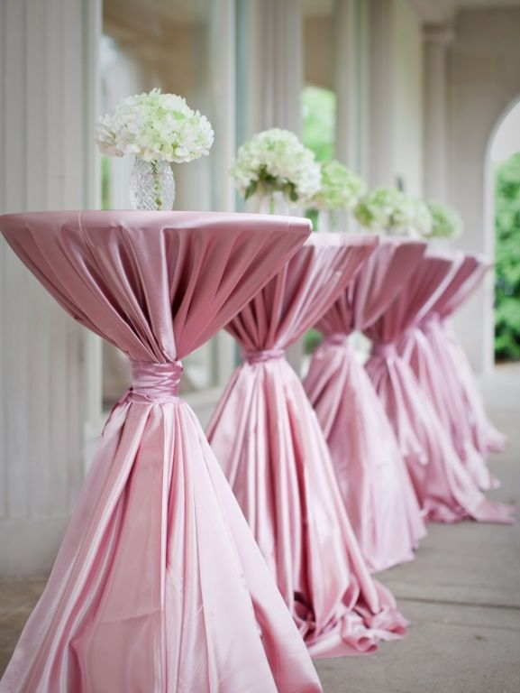 14 best images about wedding cocktail table ideas on pinterest for Wedding cocktail table ideas