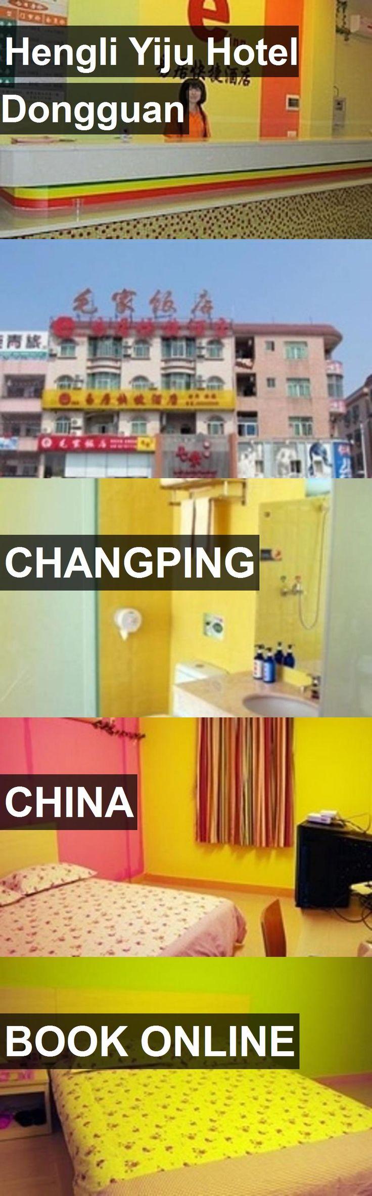 Hotel Hengli Yiju Hotel Dongguan in Changping, China. For more information, photos, reviews and best prices please follow the link. #China #Changping #HengliYijuHotelDongguan #hotel #travel #vacation
