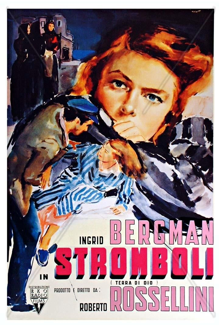 Stromboli (tierra de Dios) (1950) Italia. Dir: Roberto Rossellini. Drama. Vida rural. Neorrealismo - DVD CINE 1235