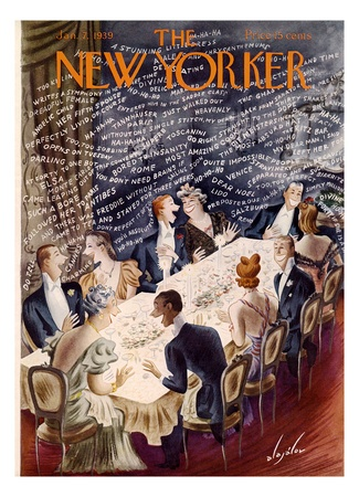 Jan 1939 New Yorker Cover by Constantin Alajalov.