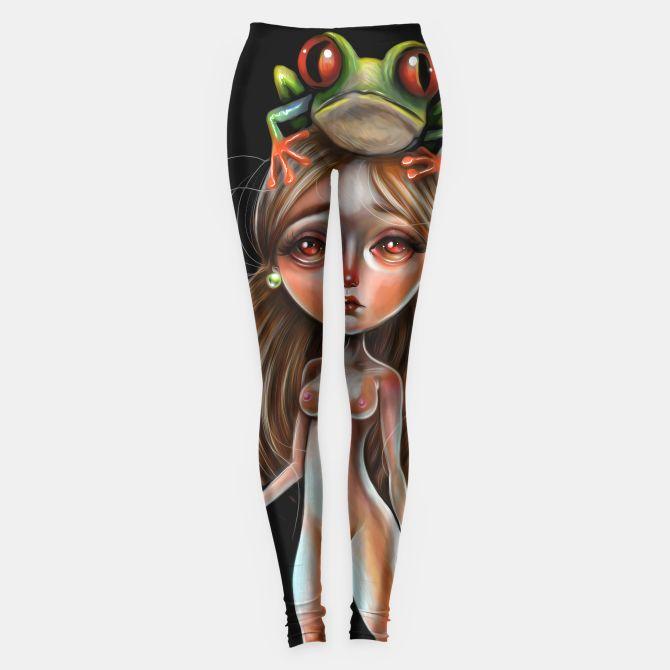 Tree Frog Headed Girl Leggings