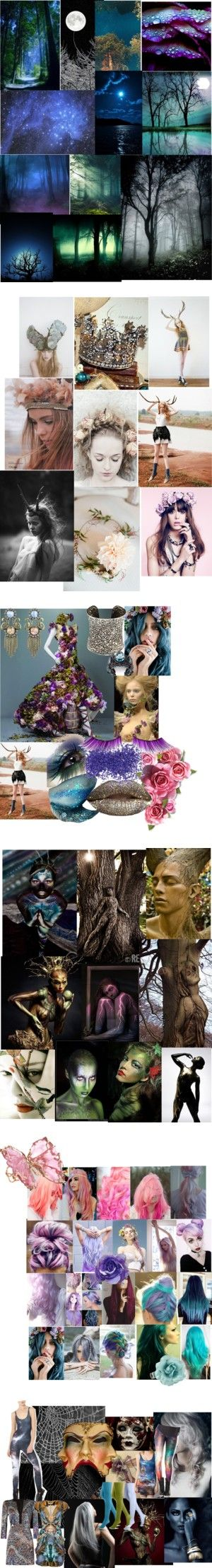"""A Midsummer Night's Dream Costuming Project"" by whimsicalfun on Polyvore"