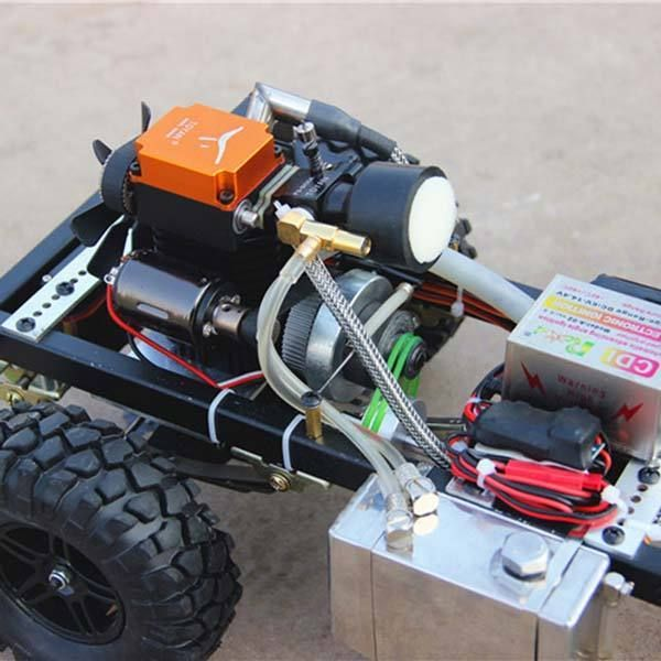 1 10 Toyan Engine Rc Car Set With Toyan Petrol Engine And 4 Channel Remote Controller Remote Control Trucks Rc Cars Rc Cars Diy