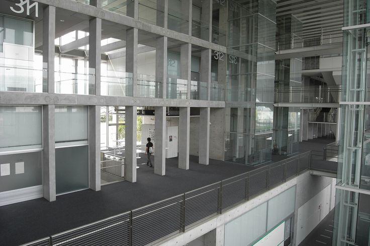 Saitama Prefectural University by Riken Yamamoto