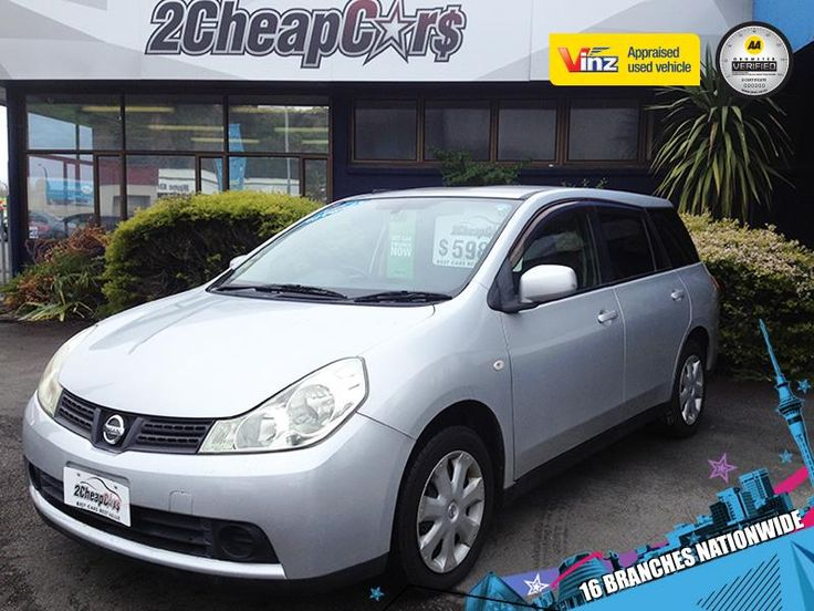 Nissan Wingroad 2007 for Sale – Silver | 2 Cheap Cars — NZ