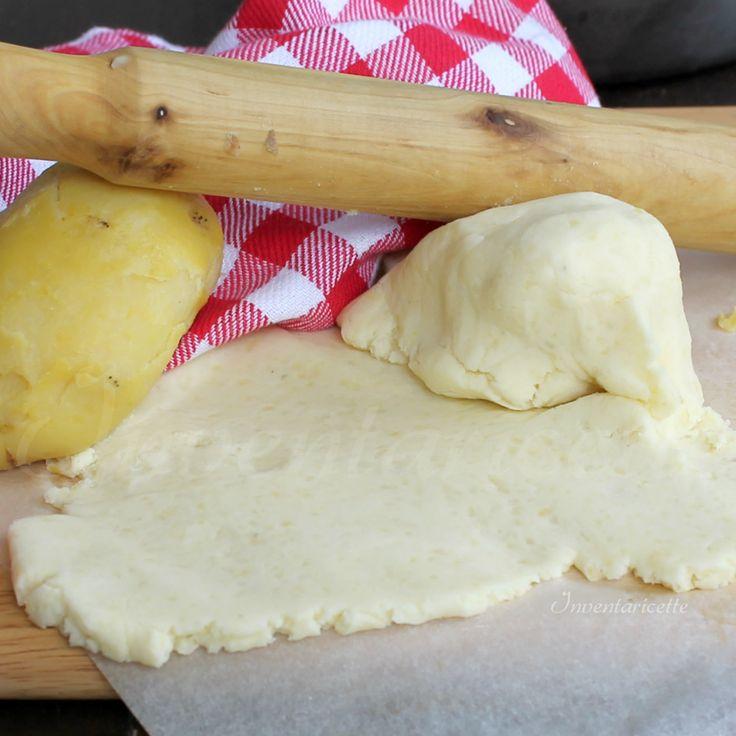 Sfoglia di patate | Impasto base per crostate cornetti e bombe