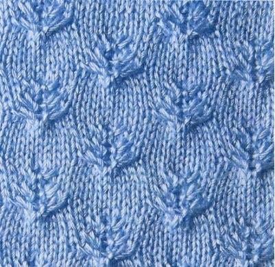 Patrón #1417: Punto Tupido a Dos Agujas | CTejidas [Crochet y Dos Agujas]