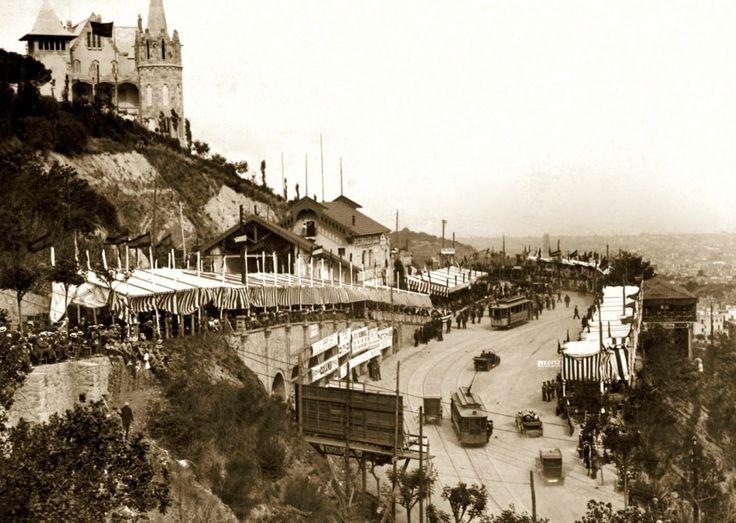 La Copa Tibidabo de Barcelona, 1914
