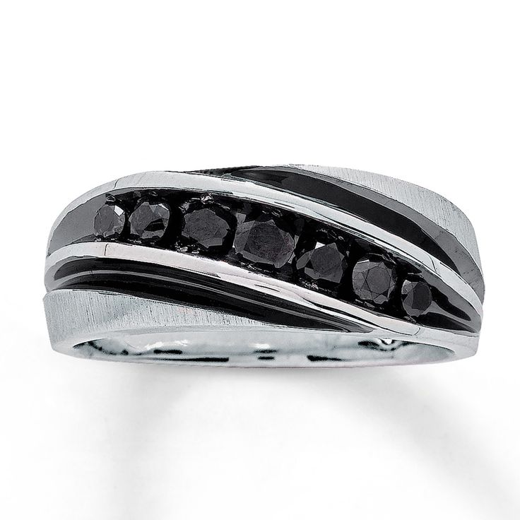 black diamond mens wedding ring 25 best ideas about black bands on 1836