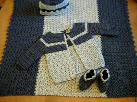 17 Best Images About Infant Boy Sweater Crochet On