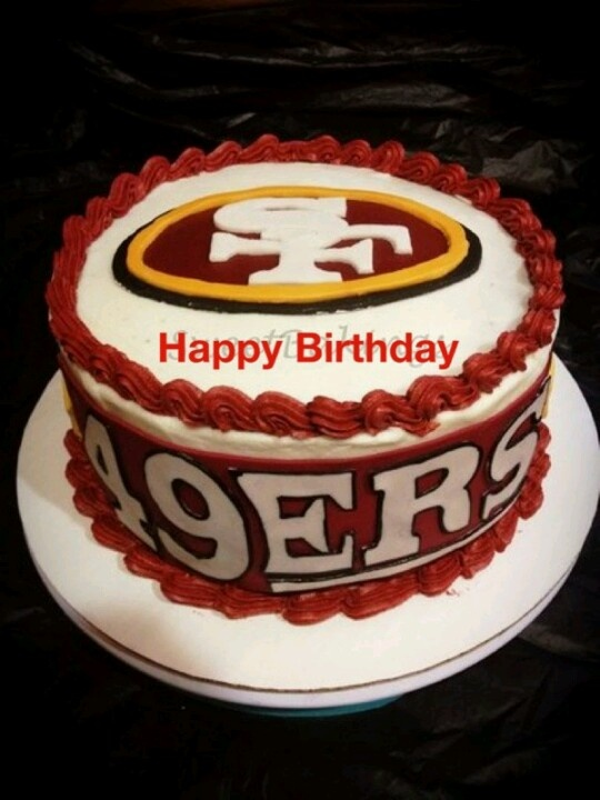 Birthday Cake Design San Francisco : 49ers Cake! Fan Food Pinterest