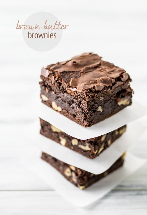 Brown Butter Brownies. Possibly one of the best brownie recipes ever.
