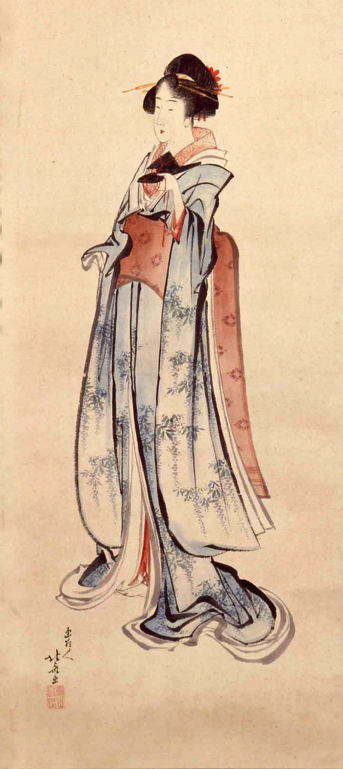 155 best Katsushika Hokusai (1760-1849) images on Pinterest Hokusai Woman