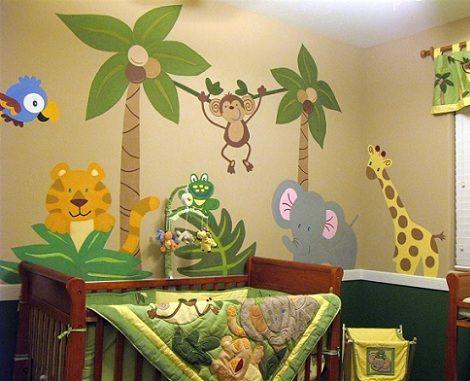 Pin de alejandra r os d az en decoraci n para bebes baby - Habitaciones pintadas para ninos ...