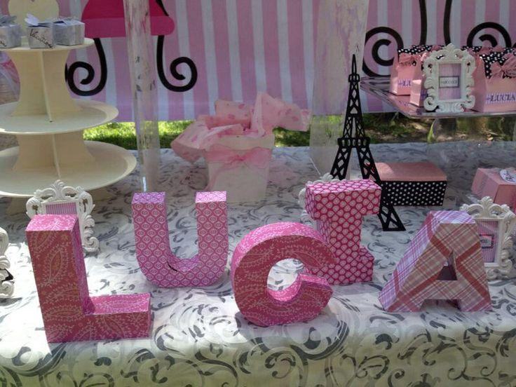 Letras para fiesta fiestas pinterest fiestas - Letras infantiles para decorar ...
