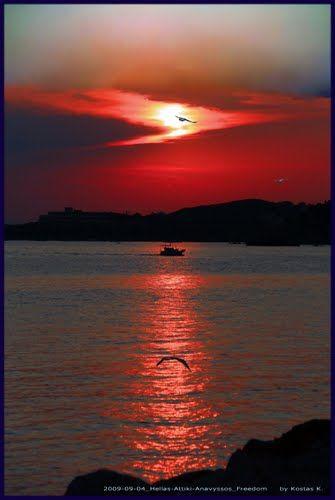 2009-09-04_Hellas-Attiki-Anavyssos_Freedom  {Dedicated to FREEDOM} by kostvil