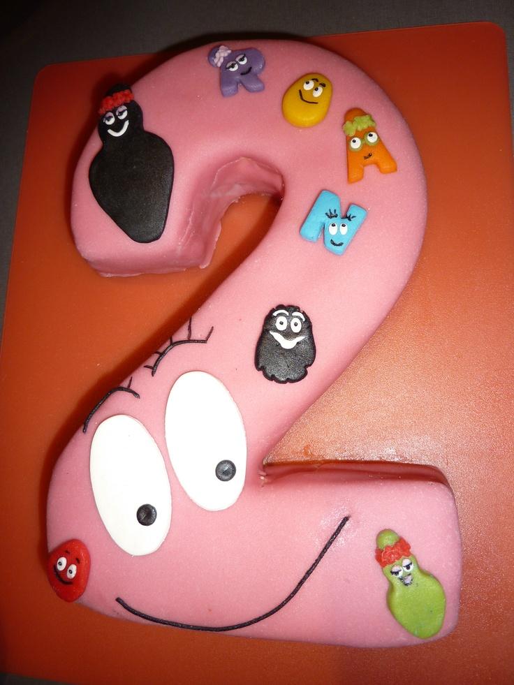barbapapa cake idea