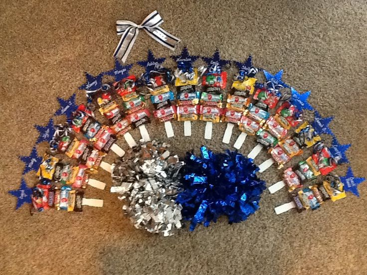 Cheer spirit sticks to start the new season.