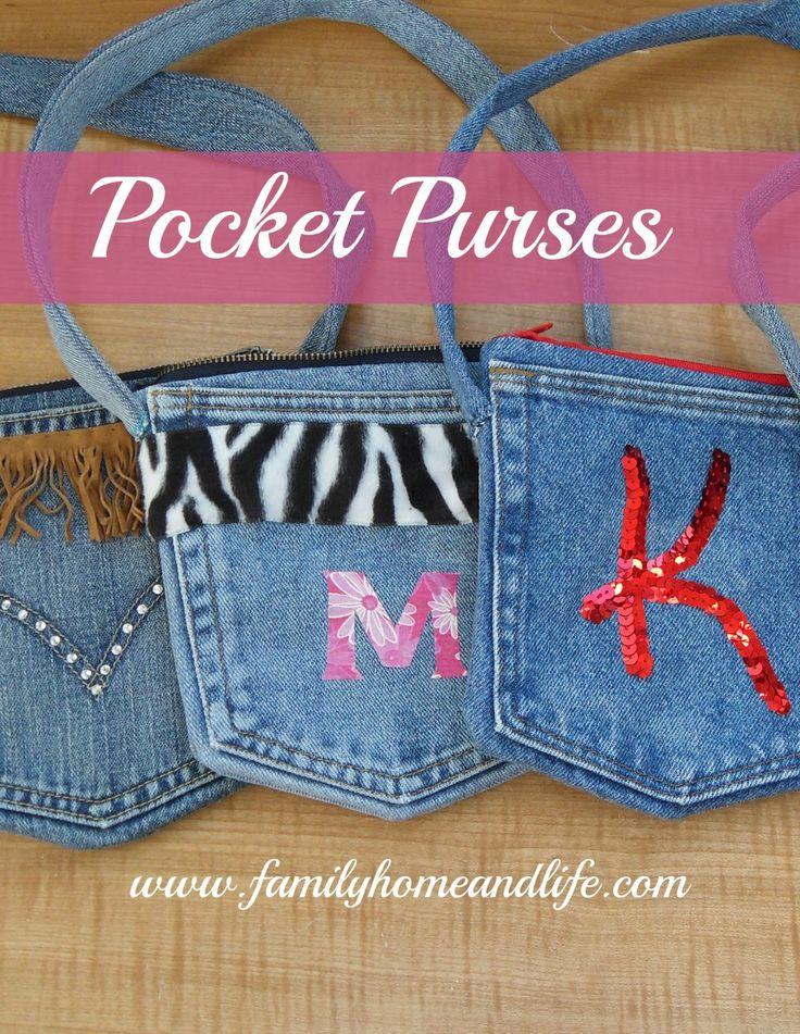 Family Home and Life: Pocket Purses