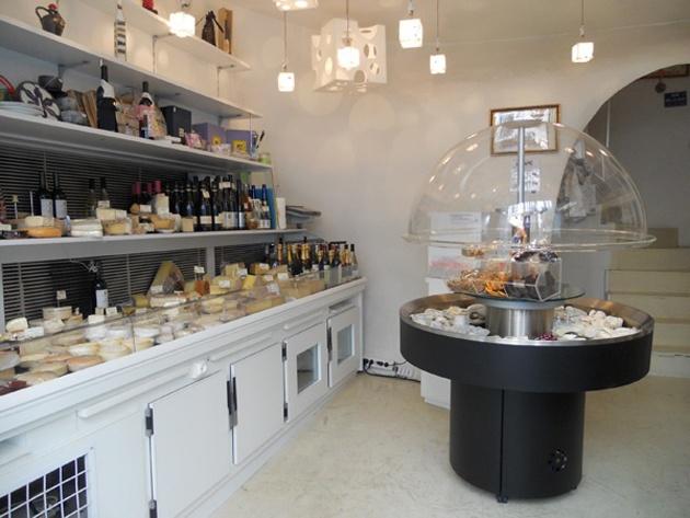 Le Salon du Fromage Hisada, París.