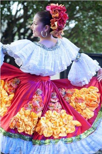 Vestido de baile Bambuco en MSN Colombia