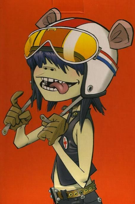 Noodle – Hewlett is a living legend!