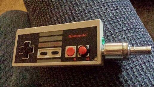 NES Controller e-cigrette mech mechanical mod dripper