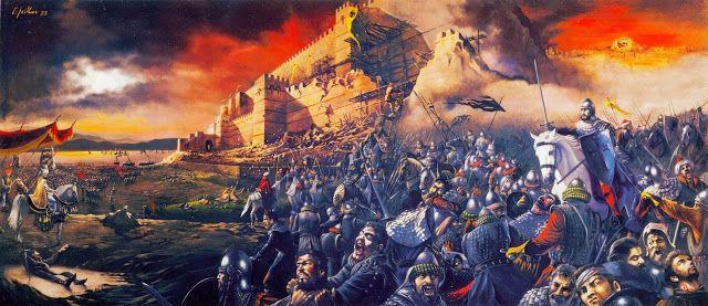 του καθηγ. Αντώνη Λιάκου, ΒΗΜΑ, 25/3/2007 Ήταν ακατανόητο για τους χριστιανούς το γεγονός ότι ο Θεός έδωσε τη νίκη στους «ασεβείς» μωαμεθανούς το 1453. Συνέβη προς εξαγνισμό των αμαρτιών τους; Ο Γεώργιος Σχολάριος, ο πρώτος πατριάρχης μετά την Αλωση, θεωρούσε την πτώση της Πόλης σημάδι της συντέλεια