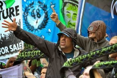Emerald City Supporters (Seattle Sounders FC) MLS Cred - Denise McCooey